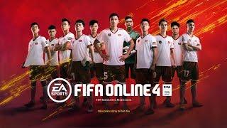 FIFA ONLINE 4: Trải Nghiệm FULL TUYỂN VIỆT NAM: Văn Hậu - Duy Mạnh - Đình Trọng Leo RANK Huyền Thoại