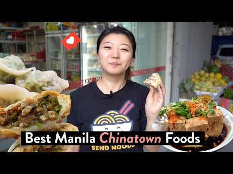 TOP 12 MANILA CHINATOWN FOODS TO TRY! Binondo Street Food Tour & Restaurants