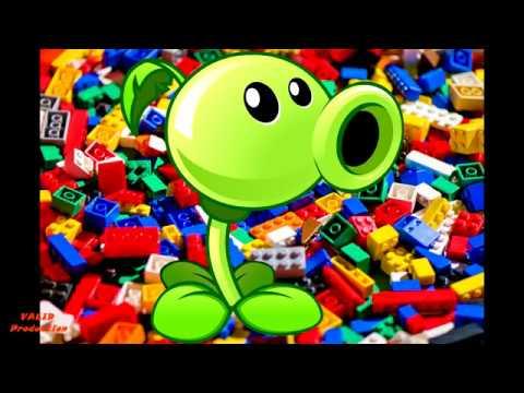 Делаем крутые вещи из LEGO , как сделать растения против зомби из LEGO #1 Горохострел