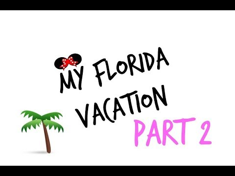 MY FLORIDA VACATION! PT 2   RENEE SCARLETT