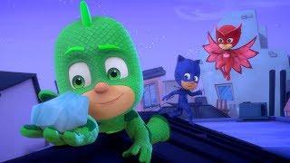 PJ Masks en Español - Episodio 14 - La piedra especial de Gekko - Dibujos Animados