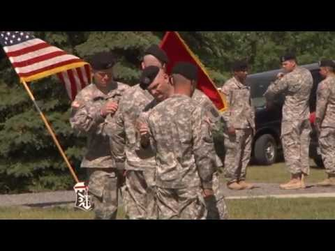 7th Engineer Battalion Dons 10th Mountain Patch
