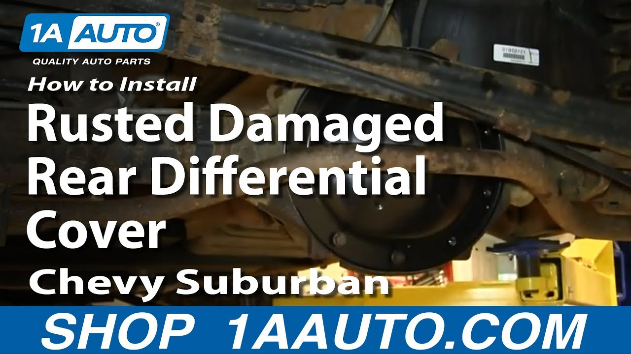 How to Replace Differential Cover 02-05 Chevy Suburban