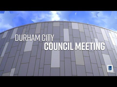 Virtual Durham City Council June 15, 2020 (Live Stream)