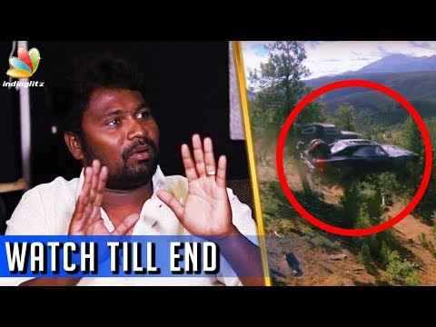 SHOCKING : The Life risk behind Stunt |  Dhilip Subbarayan Interview | Vikram, Arya