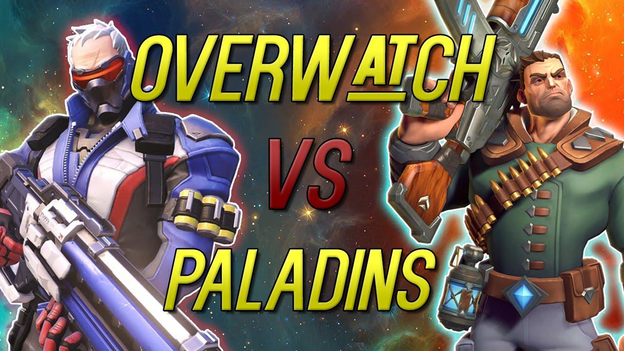 design innovativo Vendita di liquidazione fornire un sacco di Overwatch VS Paladins - Who Truly Stole The Character Ideas?!