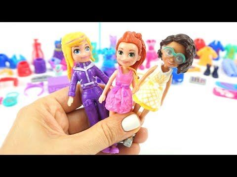 Переодевалки кукл, играем в забавную игрушку