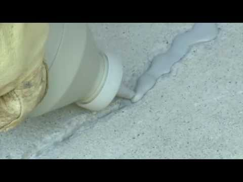 Quikrete Concrete Crack Seal Product Feature Youtube