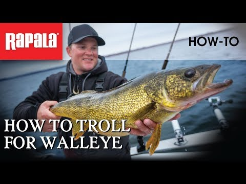 How to Troll for Walleye | Rapala Fishing Tips