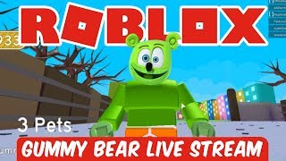 Cover images ROBLOX Live Stream Now 2018 GUMMY BEAR Gummy Memes