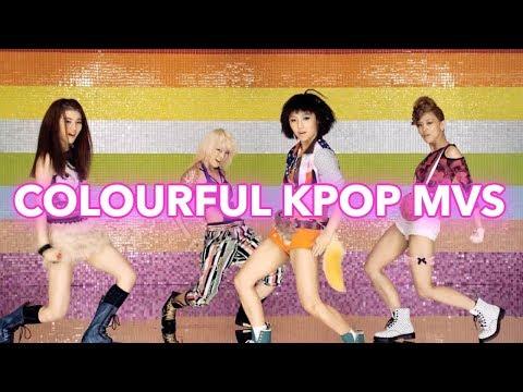 COLOURFUL K-POP MUSIC VIDEOS