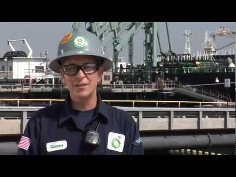 On the Job: Marine Terminal Operator -  Shawna Nevins