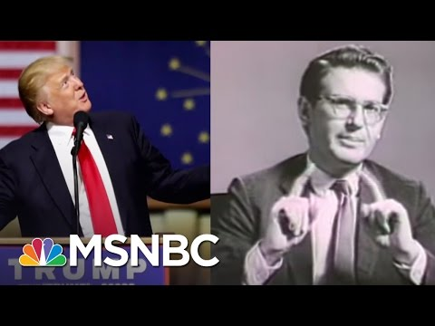 Echoes Of Barry Goldwater Seen In Donald Trump Campaign | Rachel Maddow | MSNBC