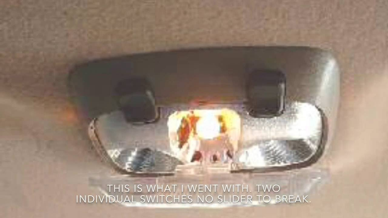 ford ranger dome light replacement upgrade youtube Ford Ranger Gauge Cluster Wiring ford ranger dome light replacement upgrade