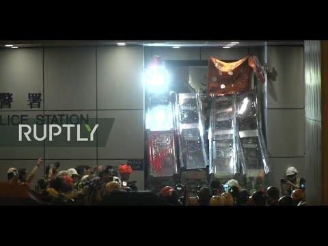 : Tensions rise at Hong Kong protest PART 2