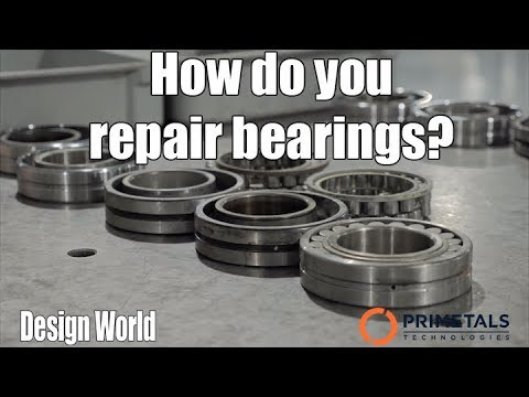 How do you repair bearings?