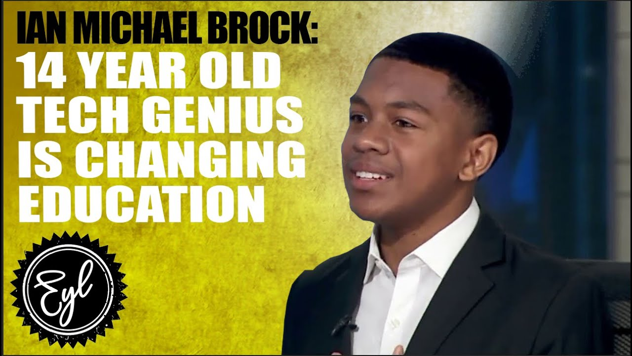 14 YEAR OLD TECH GENIUS IS CHANGING EDUCATION