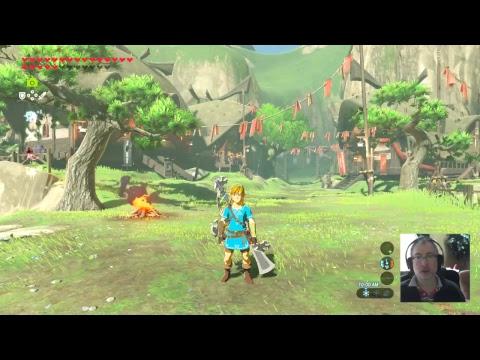 The Legend of Zelda: Breath of the Wild - Killing stuff