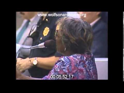 News footage from the William Lozano case