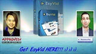 EsyVid Sales Video - get *BEST* Bonus and Review HERE!