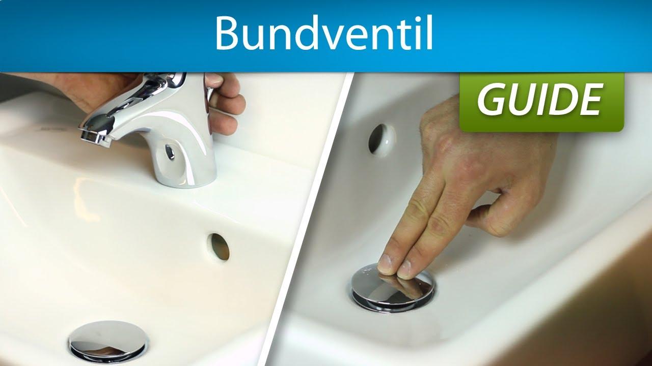 bundventil til håndvask Bundventil | Push open eller med løft op stang   YouTube bundventil til håndvask