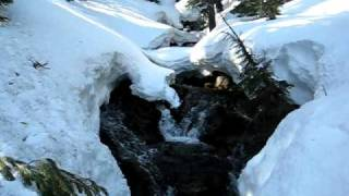 Headwaters for Hat Creek in Lassen National Park Winter 2009