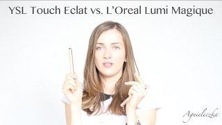 Recenzja porównawcza YSL Touch Eclat vs. L'Oreal Lumi Magique Thumbnail