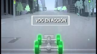 Control de estabilidad VDC de Subaru