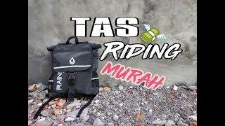 Review Tas riding Tahan air,kualitas Oke Harga Oke!