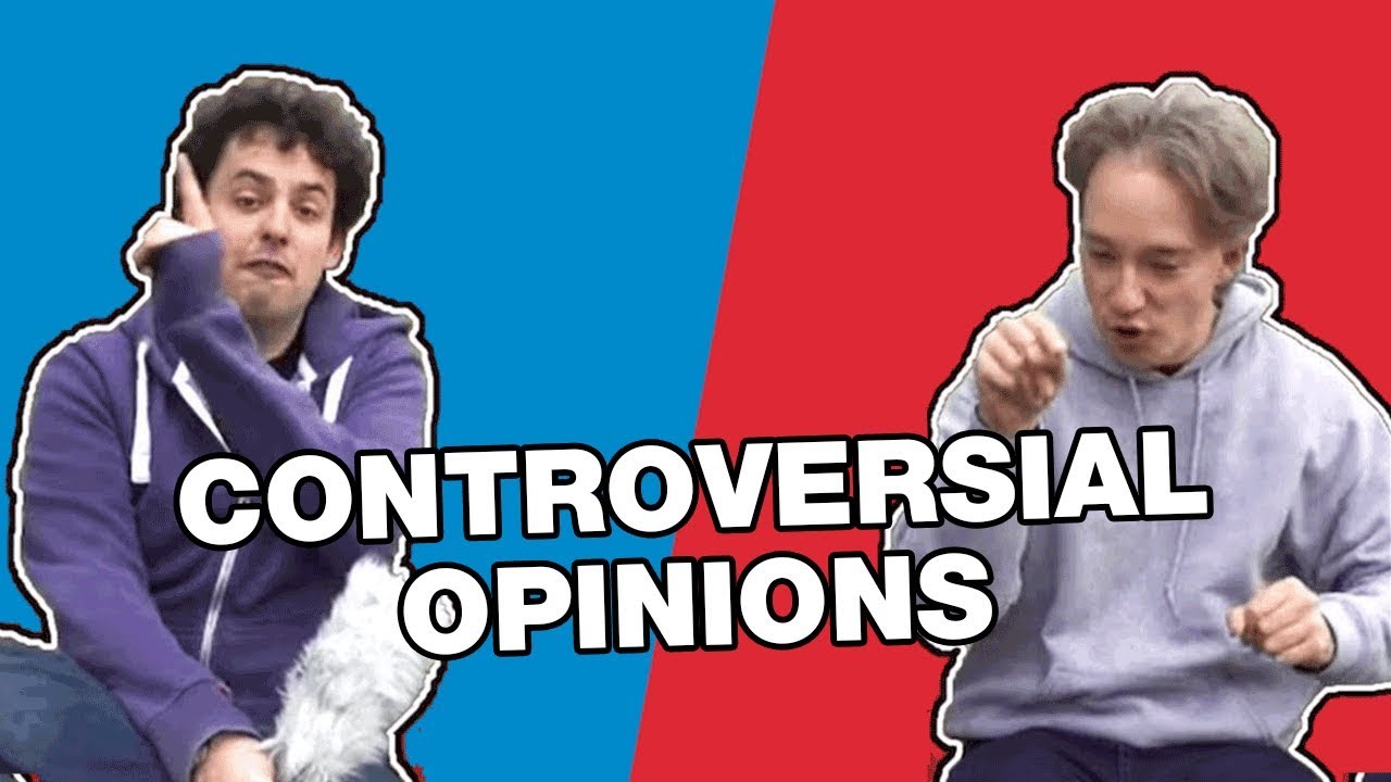 Youtube Thumbnail Image: Matt and Tom's Controversial Opinions