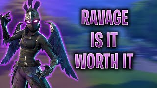 Ravage Outfit | Dark Wings | Dark Feathers - Before You Buy Fortnite Skin Review #4