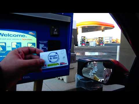 Automated Car Wash Review At Petro Canada Gas Station In Brampton Canada 4K