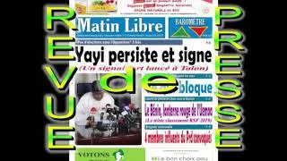 La revue de presse béninoise de ce mercredi 15 mai 2019
