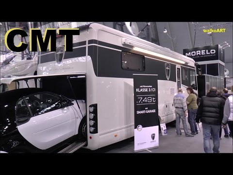 CMT Messe Stuttgart 2016 MORELO - First Class Reisemobile - Luxury Motorhomes