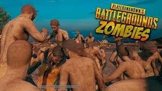 ZOMBIES NINJA!! PLAYERUNKNOWN'S BATTLEGROUNDS con VEGETTA