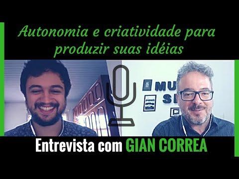 Autonomia e criativiidade para produzir suas idéias - Entrevista com Gian CorreaIViolonista