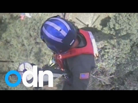 Pilot rescued after ejecting from plane...