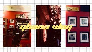 GHANA TRAVEL VLOG EPISODE 2 | KARAOKE NIGHT AT REPUBLIC | JESSICABENTU