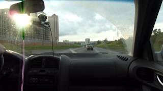 Hyundai Santa Fe Classic поездка по городу/Driving