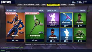 STORE FORTNITE FROM 07 AUGUST 2018! ~ Item Shop 07 AUGUST 2018 ~ (07/08/2018)