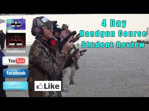 Student Review 4 Day Defensive Handgun Course | Gun Training Review | Front Sight Student Review