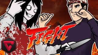 JEFF THE KILLER VS TOWN | Let
