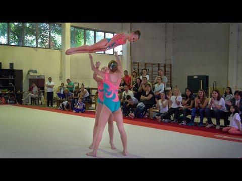 Acrobatic Gymnastics Competition in Ruse, Bulgaria 2018
