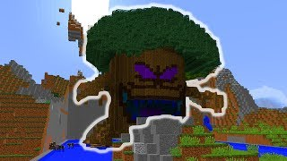 ARVORE MAL ASSOMBRADA !! #1 - MINECRAFT CRAZY CRAFT 1.10.2