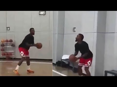 JR Smith Gets Ready For LeBron James and the Lakers!