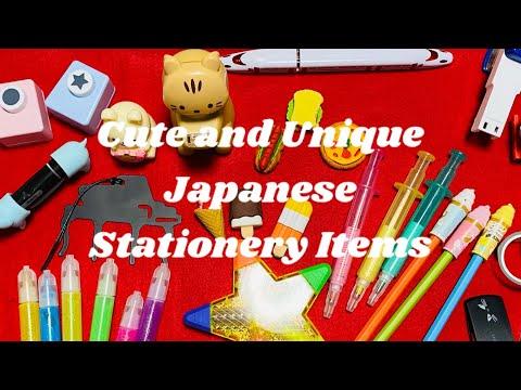 Cute & Unique Stationery Japanese Items| ¥100 yen items| Daiso Japan