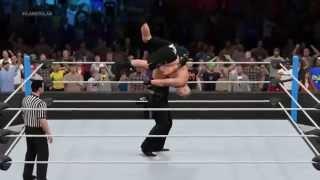 WWE 2K15 Brock Lesnar vs The Undertaker | SummerSlam 2015 - Prediction Highlights