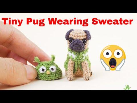 Crochet Baby Pug Amigurumi - ilove-crochet | 360x480