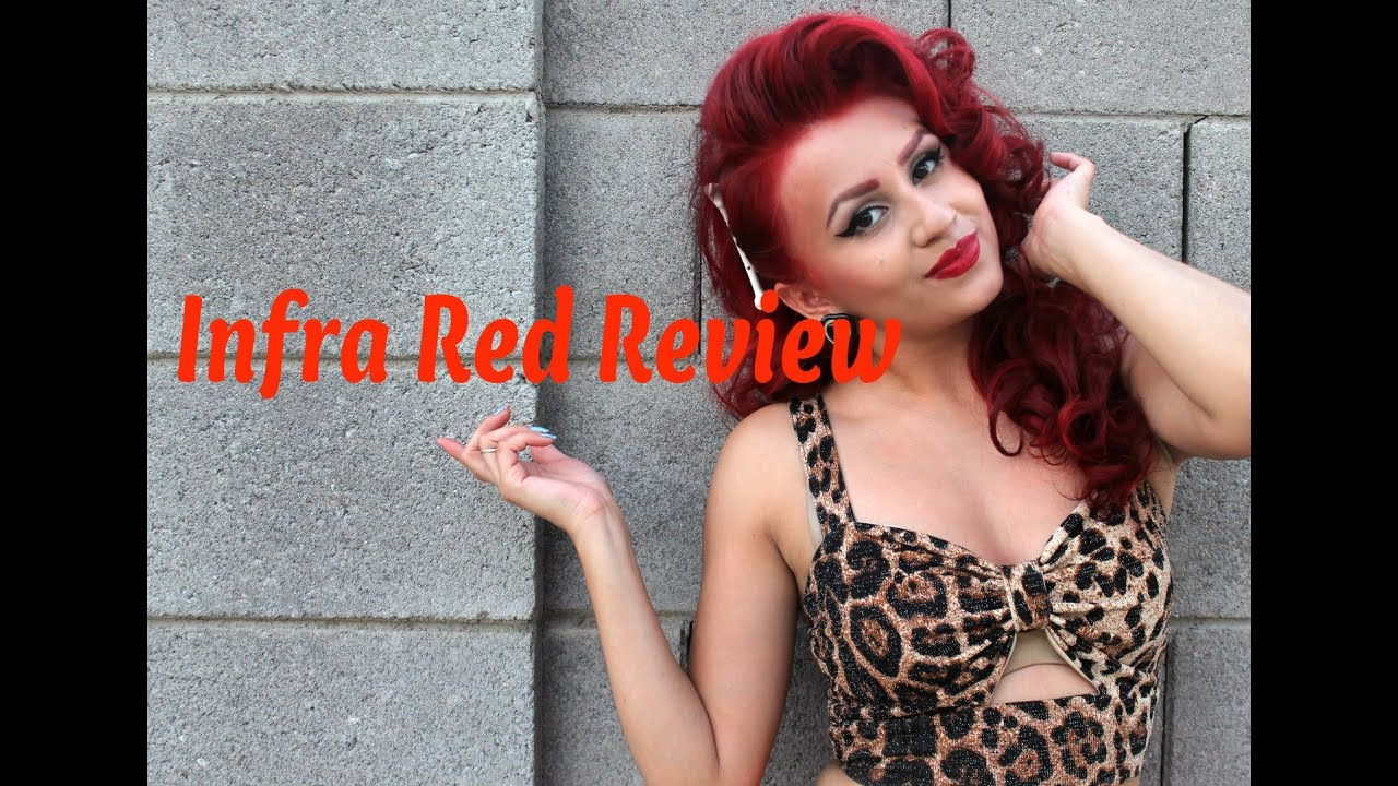Review On Manic Panic Infra Red Youtube