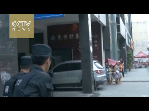Watch: Chinese police